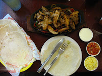 Chicken Fajitas Meal