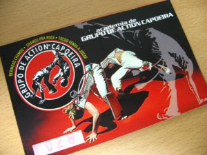 Capoeira enrollment card