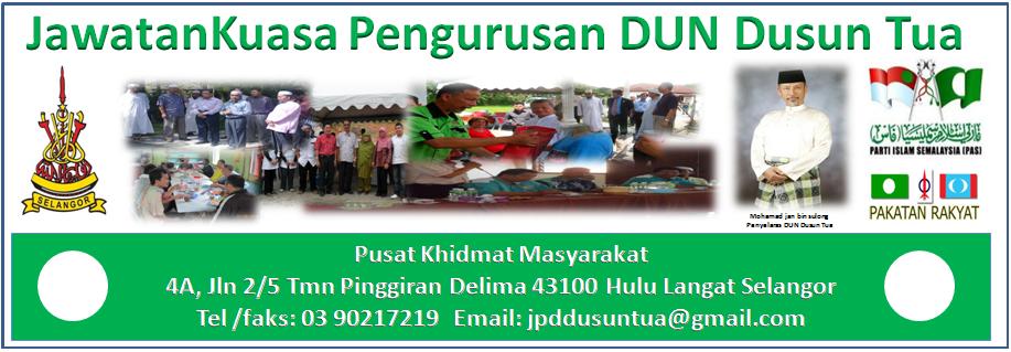 JawatanKuasa Pengurusan DUN Dusun Tua (N23)