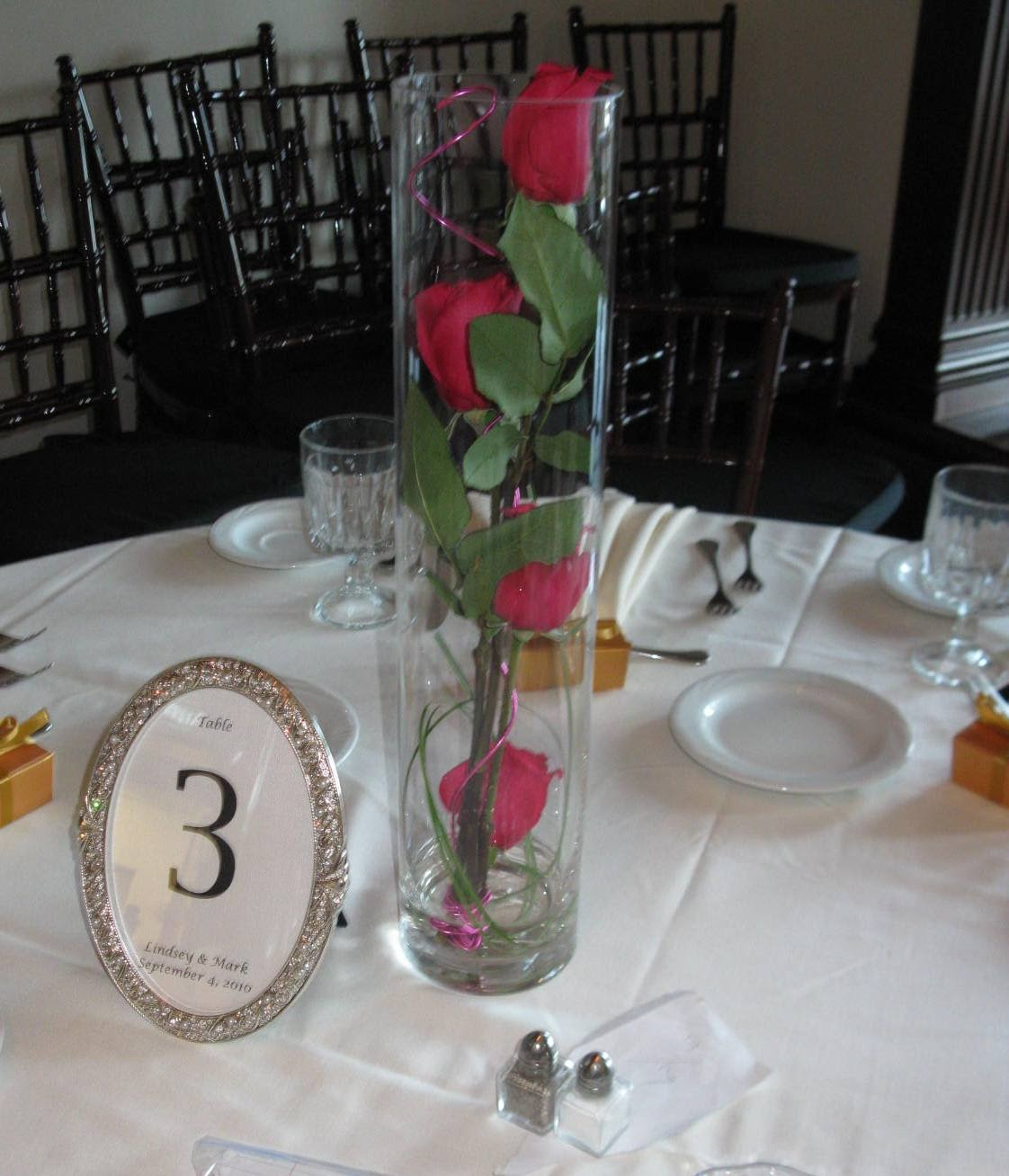 Table Arrangements For Wedding