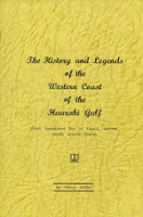 History and Legends of the Western Coast of the Hauraki Gulf Book