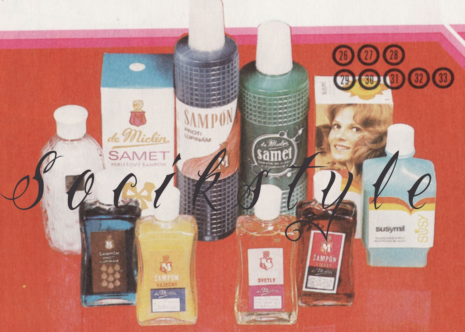 Soc k style ostalgia eskoslovensk kozmetika for Ka che vintage look