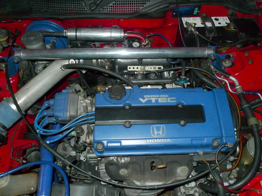 Honda CIVIC EG6: Throttle Cable Swap - EG to EK