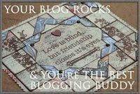 El blog imaginayrecicla me ha mandado este mimo. Gracias!!!.