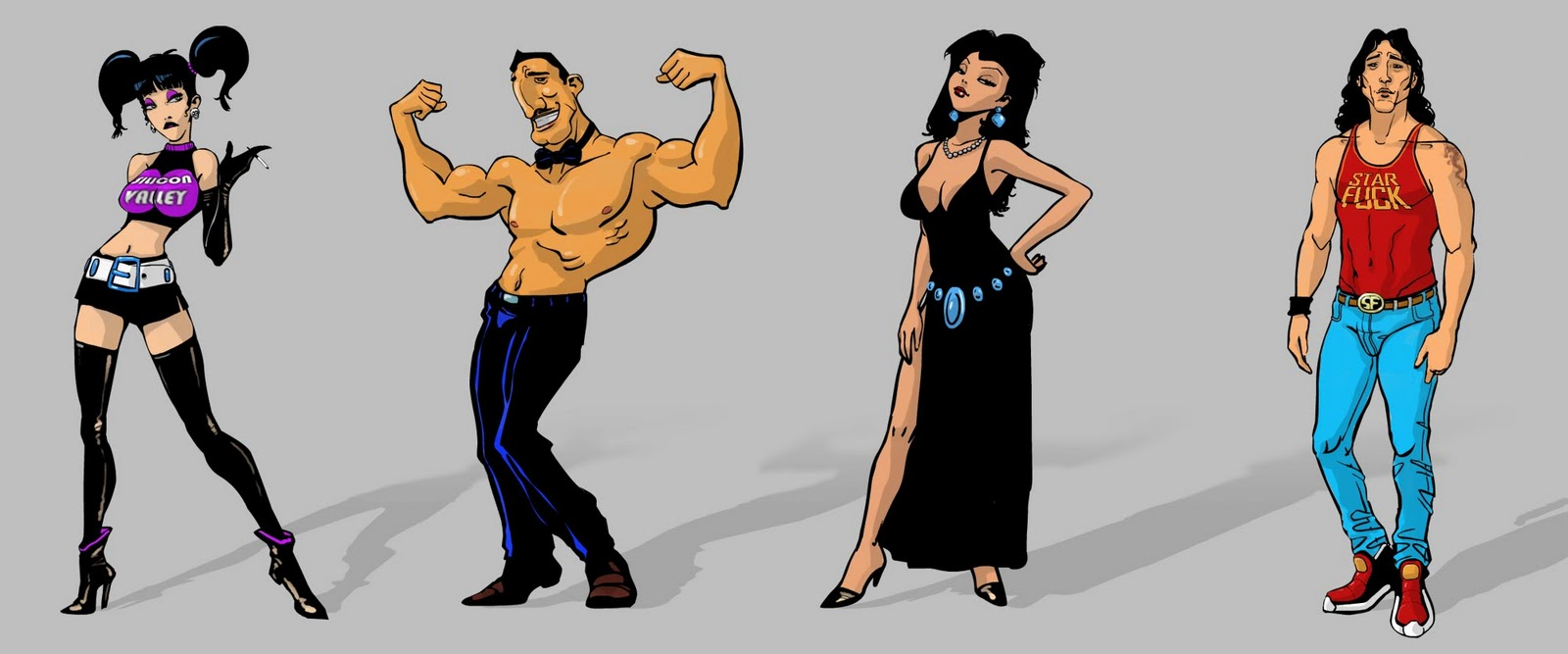 XXX game. New funny characters for a sexy game :D