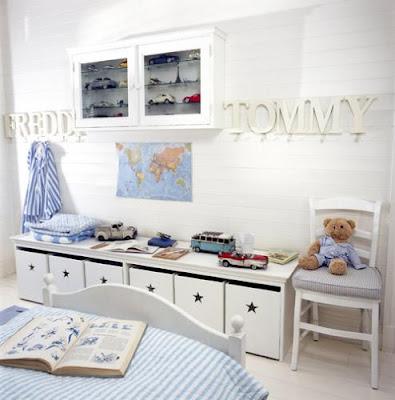 Pin Ideeën Voor Een Brocante Jongens Slaapkamer Nodig on Pinterest