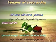 Selo especial recebido Alvaro Oliveira