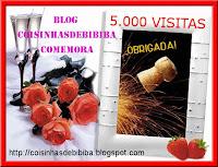 COMEMORAÇÃO 5000 VISITAS