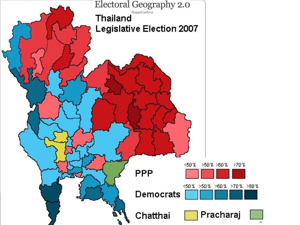 political analysis of thailand