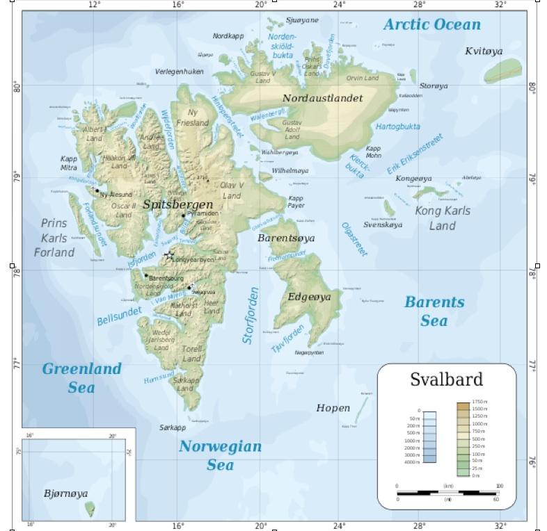The Oddities and Anomalies of Svalbard | GeoCurrents
