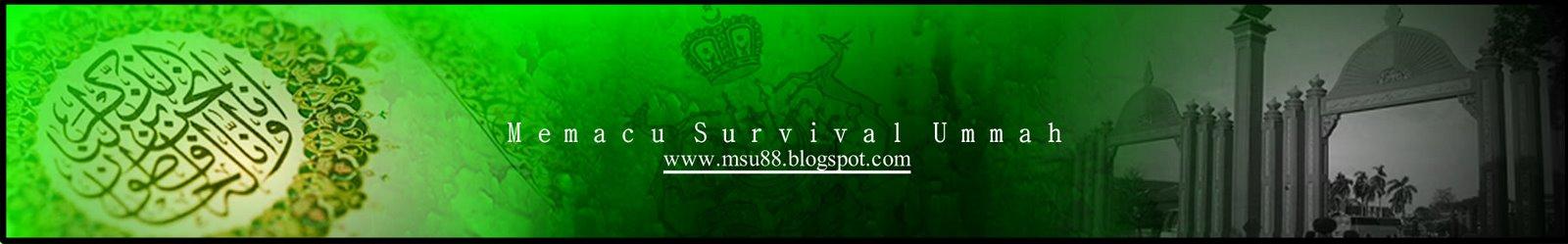Memacu Survival Ummah