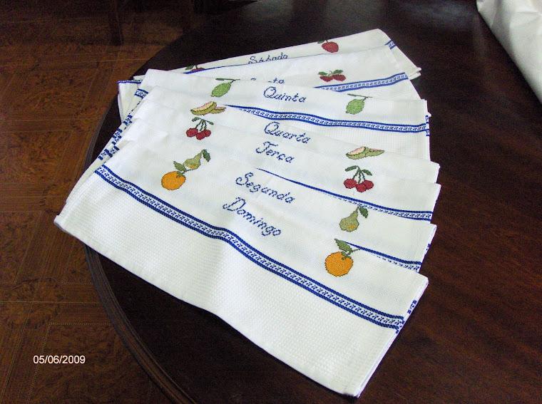 toalhas da semana 25€