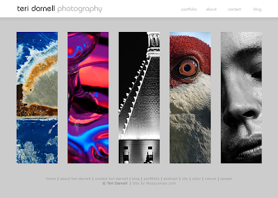 Web site of photographer Teri Darnell