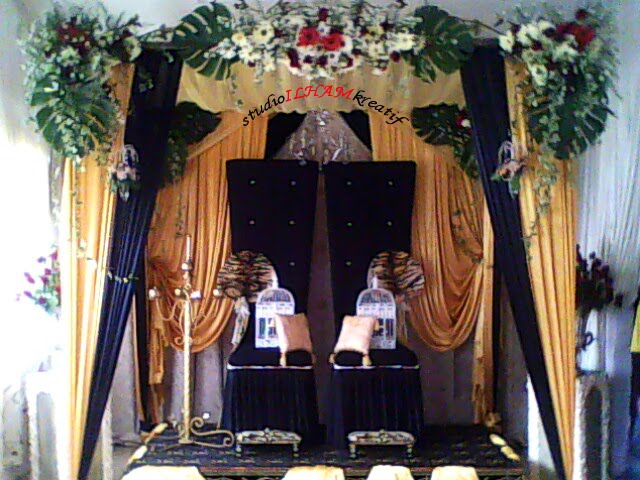 Pelamin Eksklusif fresh Flower