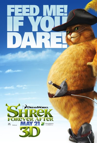cat in shrek movie. The cat from Shrek Shrek 4 Movie Poster