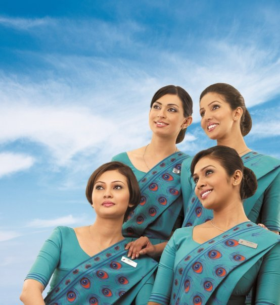 Sri Lankan Airline - Beautiful Air Hostesses