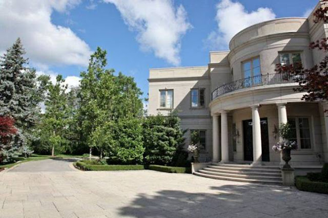 mansion canada 03 - Most Expensive House in Canada .