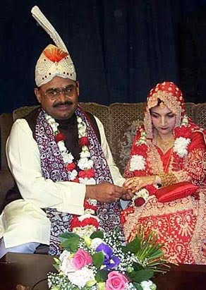 altaf hussain marriage