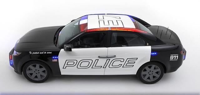 Latest US Police Car