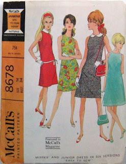 Sassy By Design :  vintage sewing pattern