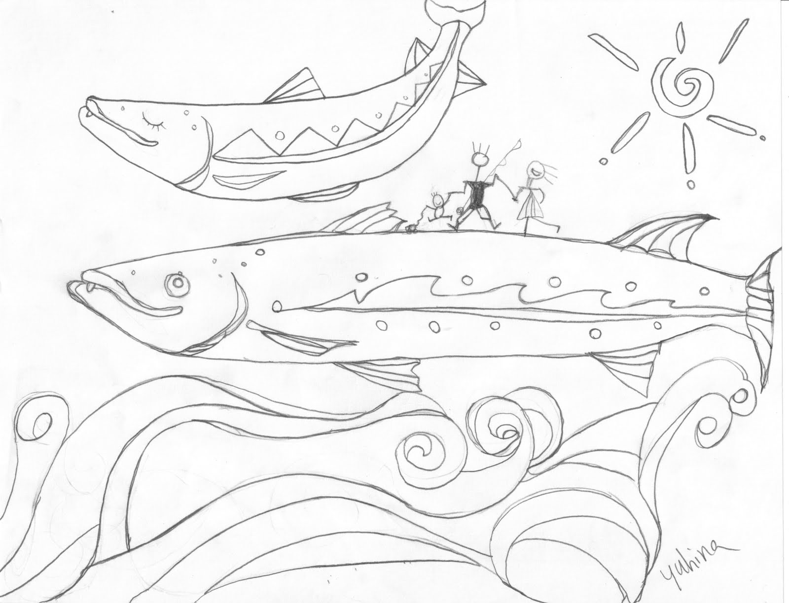 free coloring pages of brook trout White-Tailed Deer Coloring Pages  Brook Trout Coloring Page