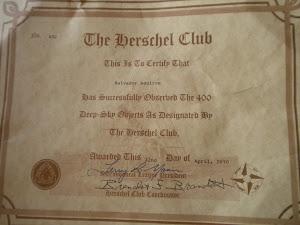 Club Herschel 400.