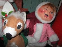 Vintage Annalee Dolls