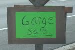 Garge Sale!