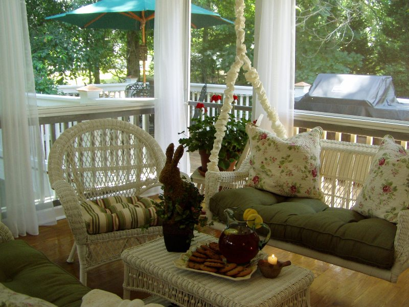 Screened In Porch Ideas. Screened-In Porch and Deck