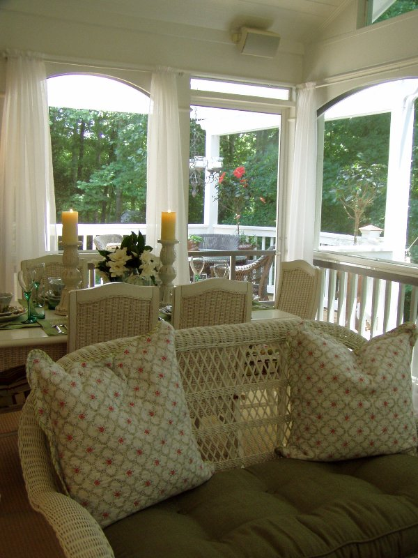 Screened In Porch Ideas. A Photo Tour of the Porch and