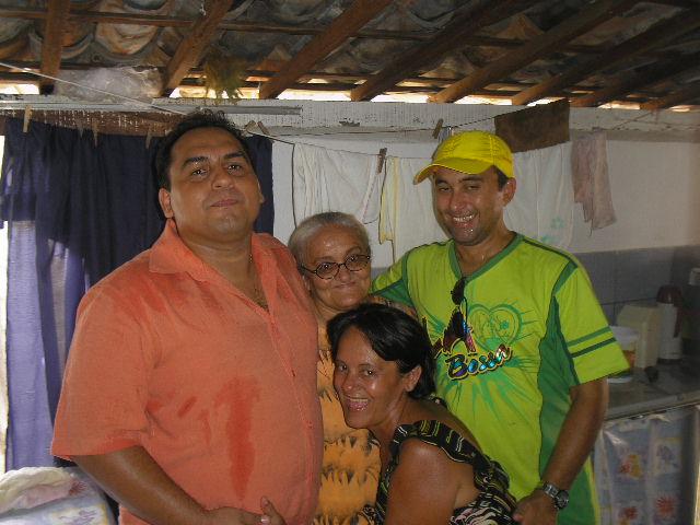 Esta é uma parte da família, uma bela lembrança
