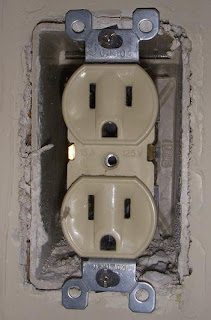 Outlet Cover Removed