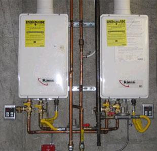 Invest in Tankless Water Heaters