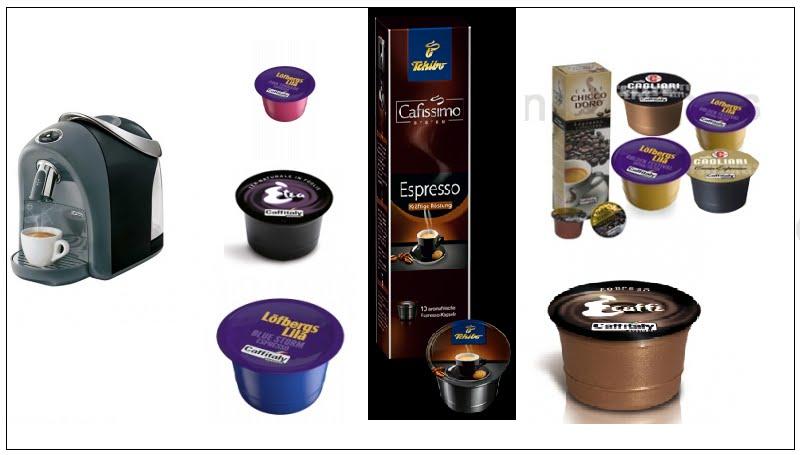 choklad kapslar caffitaly