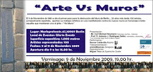 """Arte vs Muros"""