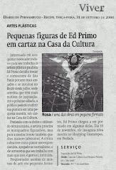 ED PRIMO, ARTISTA DE ITARARÉ