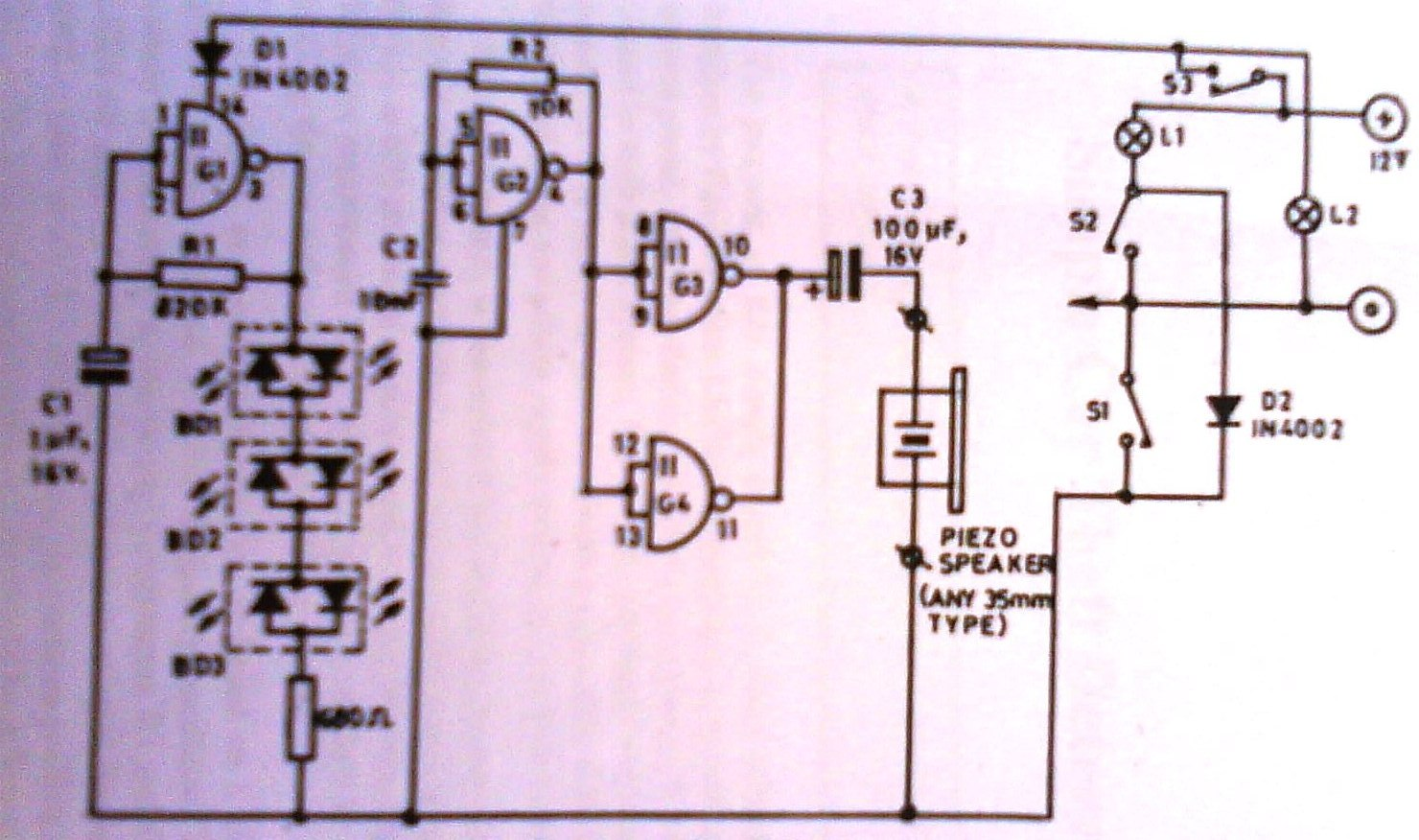 2012 Controller Circuit 32w Hi Fi Audio Amplifier With Tda2050 Diagram The Of Headlights On Indicator