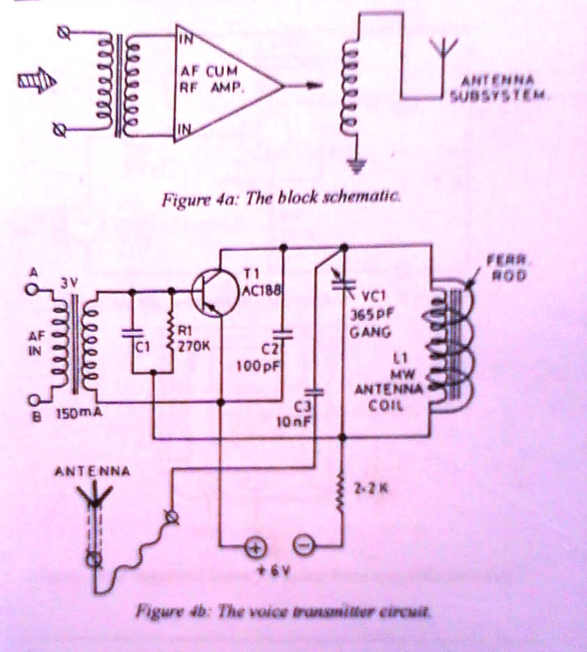 Huzoonline 2010 Mw Transmitter Circuit The Schematic Voice Broadcaster