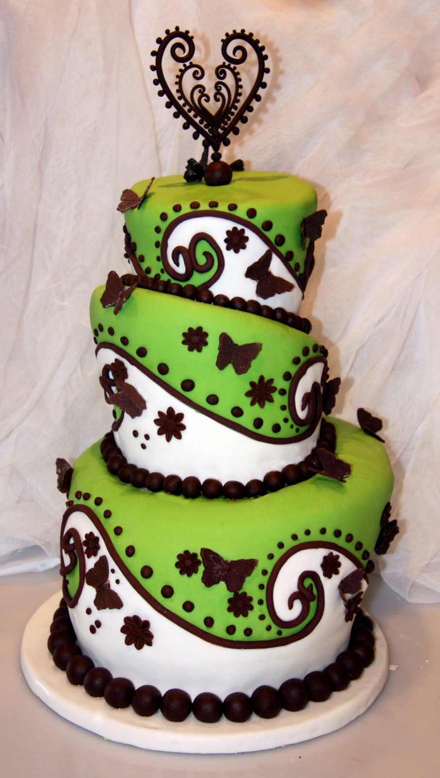 Cake Designs Green : Living Life: For The Love of Cake