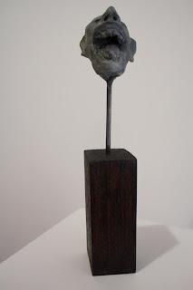 Dalla Seitz 'Shrunken heads (laughing man)'