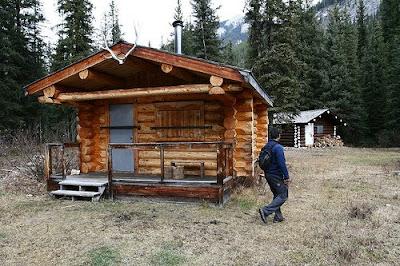 Barbara martin hiking trails sawback trail day 4 for Johnston canyon cabins