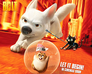 animated movie bolt wallpaper