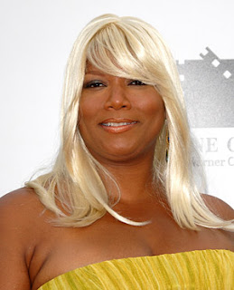 Queen Latifah White Hot Hair