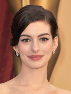 Anne Hathaway Cute Hairstyle