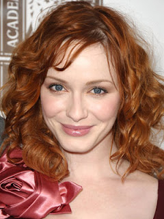 Christina Hendricks Hairstyle Poster