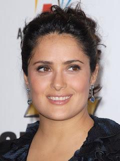 Salma Hayek Hairstyle Pic