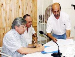 Ayer se firmaron convenios entre la Intendencia Municipal y Cujó S.A.