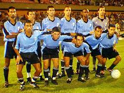 El equipo celeste está casi definido luego de la práctica de fútbol