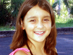 María Fernanda Fernández Siñeriz, reinita infantil del Club Artigas