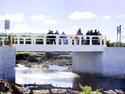 Puente de hormigón se entregó a la comunidad en Paso de Amarillo